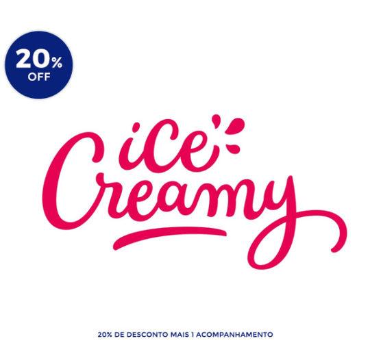 Ice Creamy sorvete na pedra